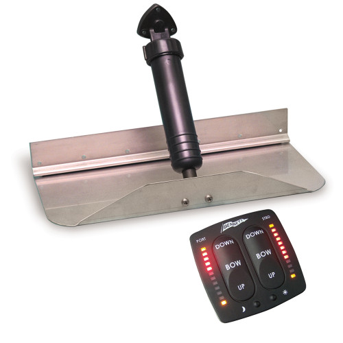 "1812EIC - Bennett Trim Tab Kit 18"" x 12"" w/EIC Switch"