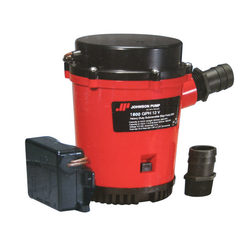 01674-001 - Johnson Pump 1600GPH Ultima Combo Bilge Pump - 12V