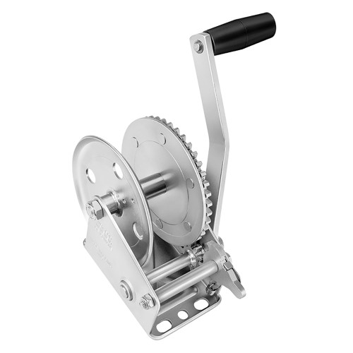142100 - Fulton 1100lb Single Speed Winch - Strap Not Included