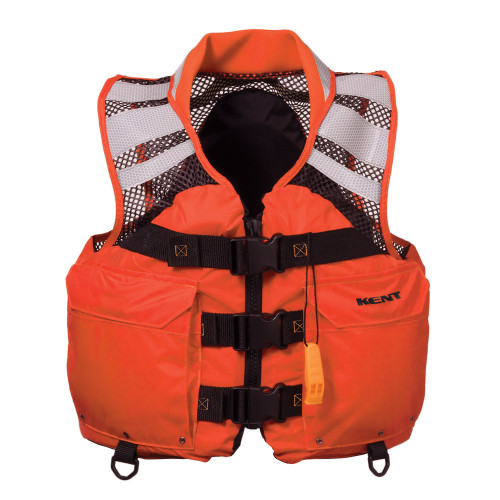 """151000-200-050-12 - Kent Mesh Search and Rescue """"SAR"""" Commercial Vest - XLarge"""
