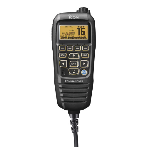 HM195B - Icom CommandMic IV Black