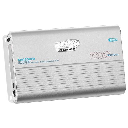 MR1200PA - Boss Audio MR1200PA 4-Channel 1200W Full Range Class A/B Amplifier