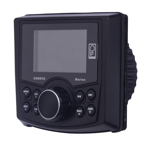 GSMR30 - Poly-Planar MP4/MP3/Photo Playback Gauge Series Marine Radio