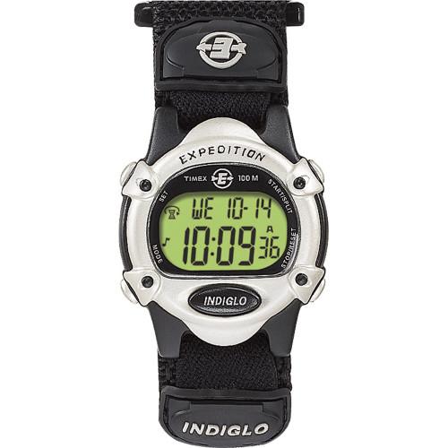 T47852 Timex Expedition® Women's Digital Chrono Alarm Timer - Silver/Black