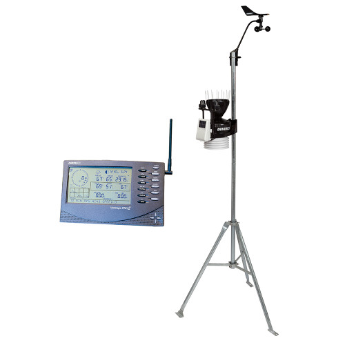 6162 - Davis Wireless Vantage Pro2™ Plus w/UV & Solar Radiation Sensors