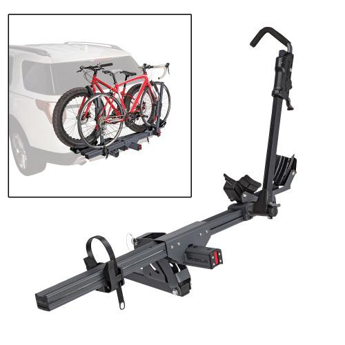 "59307 - ROLA Convoy 2-Bike Carrier - Trailer Hitch Mount - 1-1/4"" Base Unit"