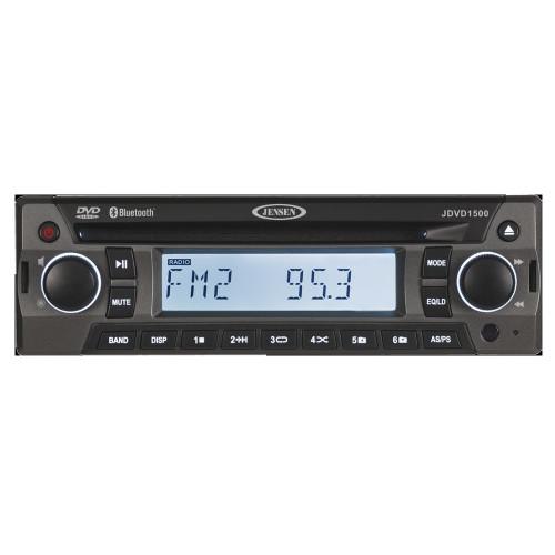 JDVD1500 - JENSEN JDVD1500 AM/FM/CD/DVD/Bluetooth Stereo