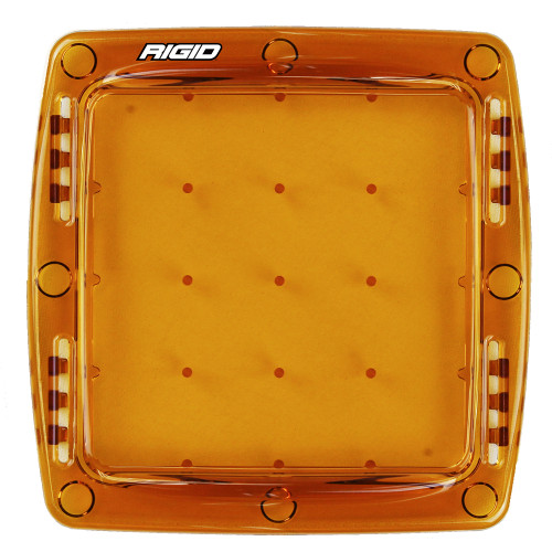 103933 - Rigid Industries Q-Series Lens Cover - Amber