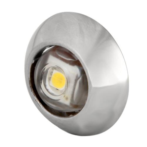 101049 - Lumitec Exuma Courtesy Light - Polished Stainless Housing - White Light
