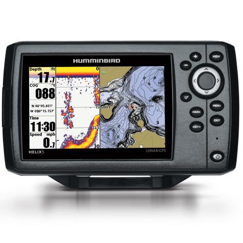 410210-1 - Humminbird HELIX 5 G2 Chirp GPS Combo