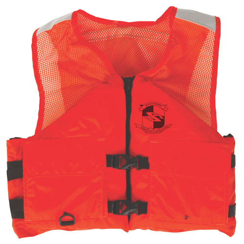 2000011409 - Stearns Work Zone Gear™ Life Vest - Orange - Small