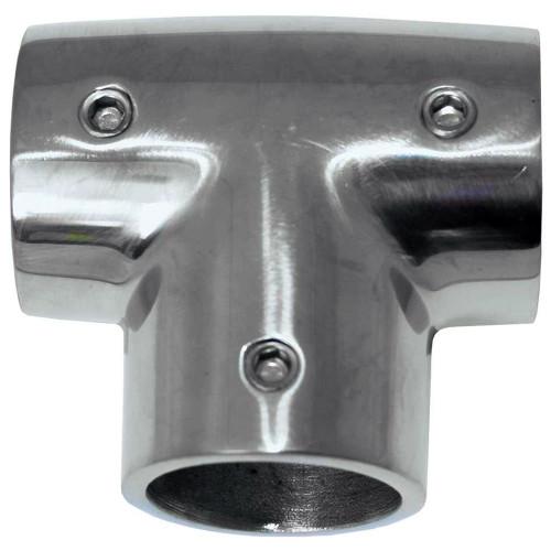 "6043C - Whitecap ⅞"" O.D. 90° SS Tee Fitting"