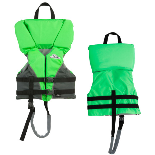 2000032676 - Stearns Heads-Up® Child Nylon Vest Life Jacket - 30-50lbs - Green