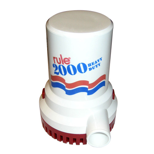 12 - Rule 2000 G.P.H. Non-Automatic Bilge Pump - 24V