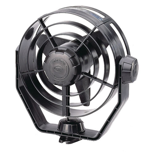 003361002 Hella Marine 2-Speed Turbo Fan - 12V - Black