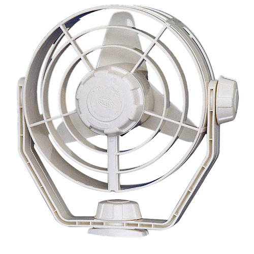 003361022 Hella Marine 2-Speed Turbo Fan - 12V - White