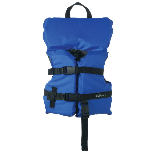 103000-500-000-12 Onyx Nylon General Purpose Life Jacket - Infant/Child Under 50lbs - Blue