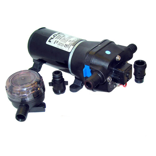 04325343A FloJet 24V, 40psi Heavy Duty Water Pressure Pump - 4.3 GPM