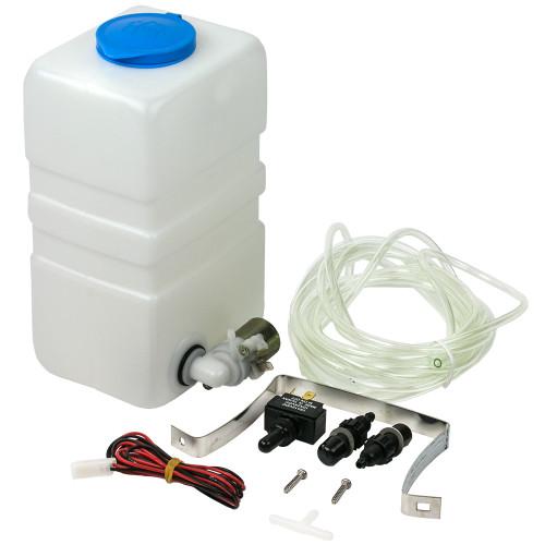 414900-3 Sea-Dog Windshield Washer Kit Complete - Plastic