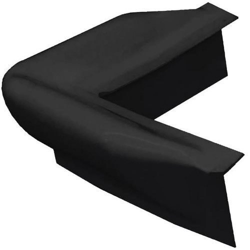 DE73104F Dock Edge Dock Bumper Corner Dock Guard - Black