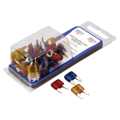 445090-1 Sea-Dog ATM Mini Blade Style Mixed Fuse Kit