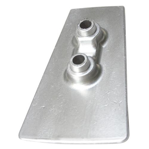 00733 Tecnoseal Zinc Cavitation Plate Anode f/Volvo DPH Outdrives