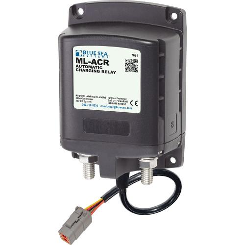 7621100 Blue Sea 7621100 ML ACR Charging Relay 24V 500A w/Deutsch Connector