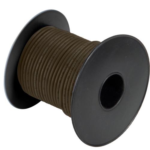 A1014T-06-250' Cobra Wire 14 Gauge Flexible Marine Wire - Brown - 250'