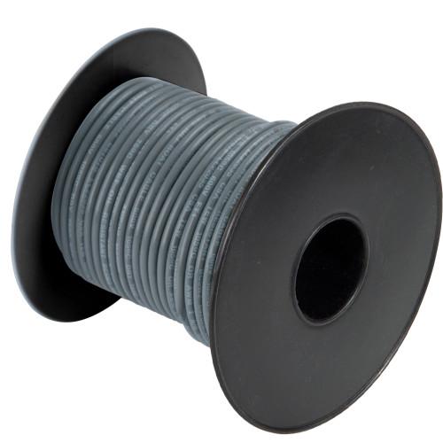 A1014T-13-100' Cobra Wire 14 Gauge Flexible Marine Wire - Grey - 100'