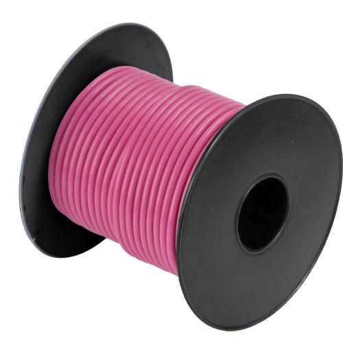 A1014T-09-100' Cobra Wire 14 Gauge Flexible Marine Wire - Pink - 100'