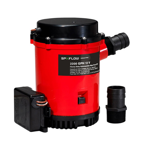 02274-002 Johnson Pump 2299GPH Ultima Combo Auto Bilge Pump - 24V