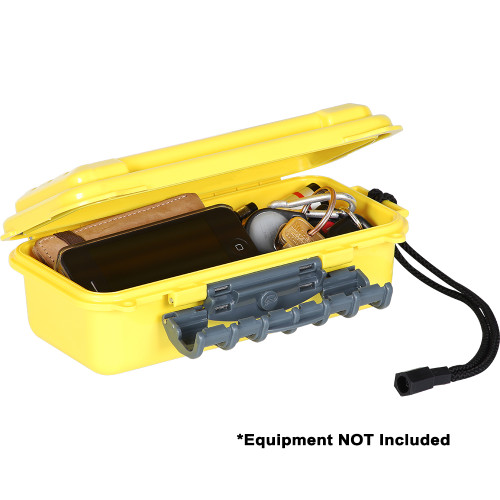 145040 Plano Medium ABS Waterproof Case - Yellow