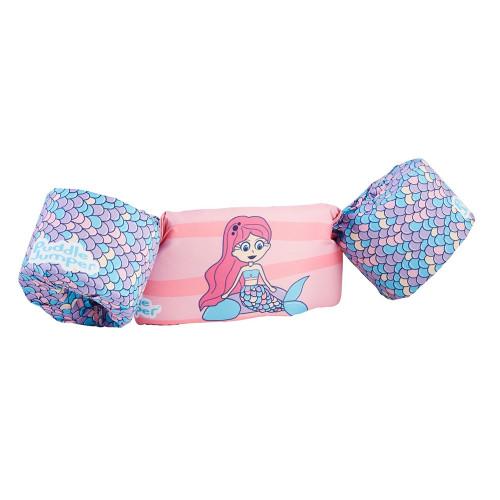 3000005716 Puddle Jumper Kids Life Jacket - Mermaid - 30-50lbs