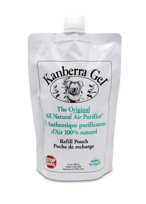 KG0024P Kanberra Gel Tea Tree Oil Air Purifier 24 oz. Refill 02378