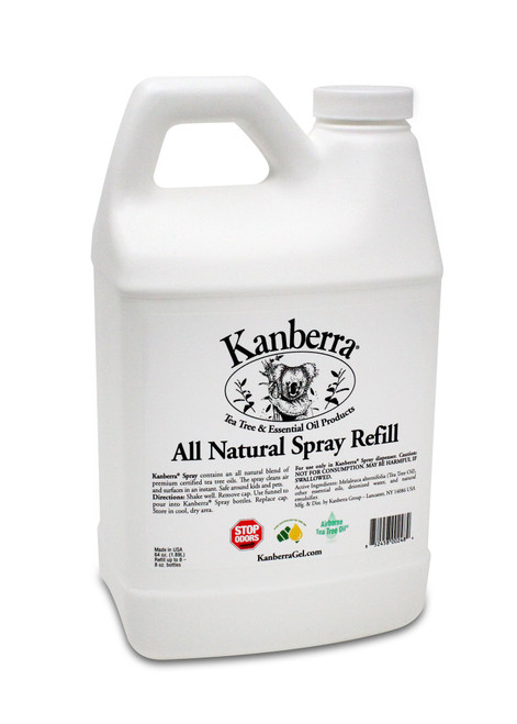 KS64R Kanberra Gel Tea Tree Oil Spray 64 oz. Refill