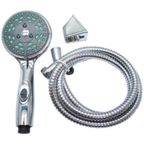 CRD-DX-APS80C American Brass RV Deluxe 5-Function Massaging Shower Kit With Pressure Assist And Water Saving Feature - Chrome