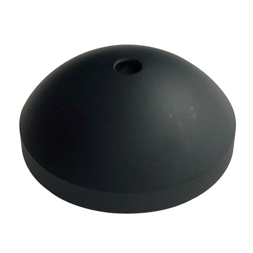 312-000000 Bob's Machine Prop Nut for Minn Kota Trolling Motors with 80+ lbs. Thrust - Matte Black (Ceramic Coating)