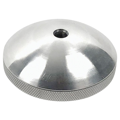 312-100007 Bob's Machine Prop Nut for Minn Kota Trolling Motors with 70 lbs. or Less Thrust - Brushed Aluminum