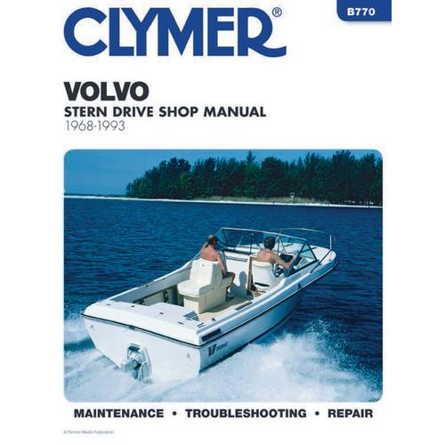 B770 Clymer Repair Manual For Volvo Stern Drives (Penta) - 1968-1993