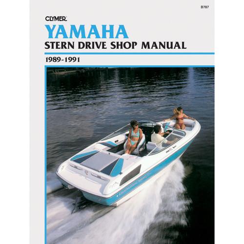 B787 Clymer Repair Manual For Yamaha Stern Drives - 1989-1991