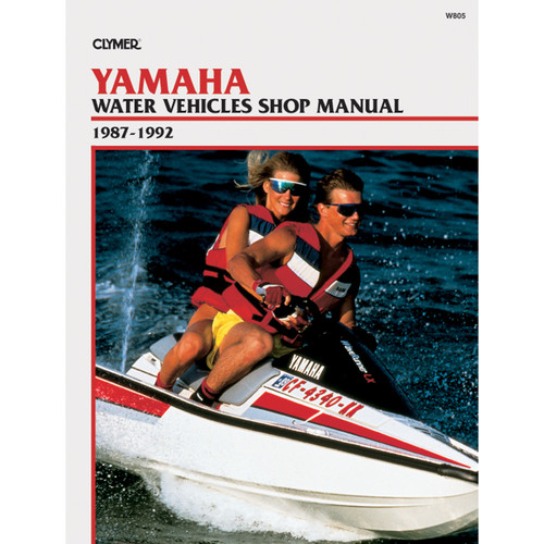 W805 Clymer Repair Manual For Yamaha Water Vehicles - 1987-1992