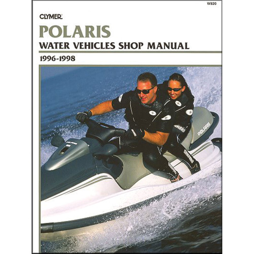 W820 Clymer Repair Manual For Polaris Personal Watercraft - 1996-1998