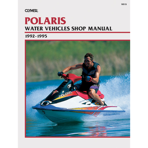 W819 Clymer Repair Manual For Polaris Water Vehicles - 1992-1995