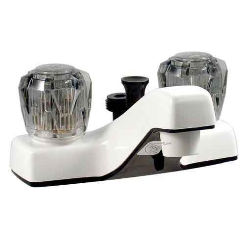 "PF212242 Phoenix Faucets by Valterra Dual Handle 4"" Bathroom Diverter Faucet - White"