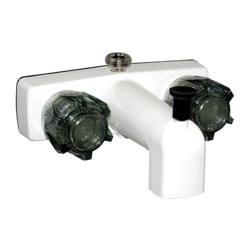 """PF213265 Phoenix Faucets by Valterra Dual Handle 4"""" Tub/Shower Faucet - Biscuit"""