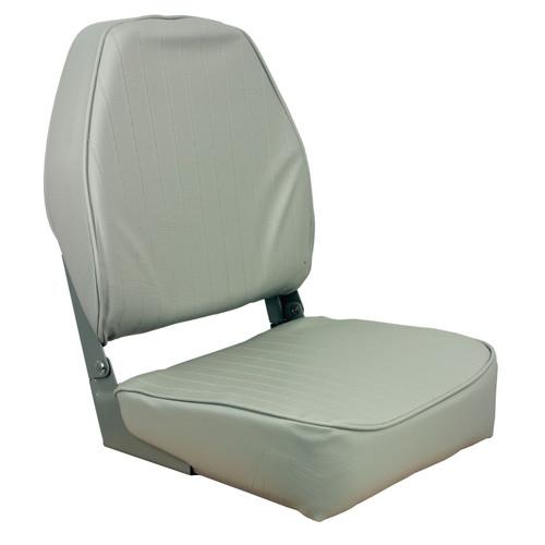 1040643 Springfield Marine High Back Folding Coach Seat - Gray