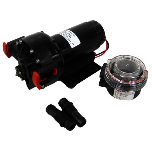 10-13252-107-BW - Johnson Pump Baitwell Pump - 5.2 GPM - 12V