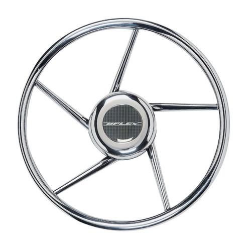 V06 Uflex Steering Wheel - Stainless Steel