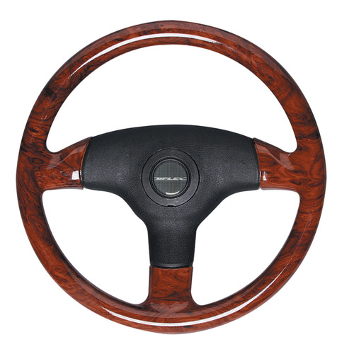 V61B Uflex Antigua Burlwood Steering Wheel