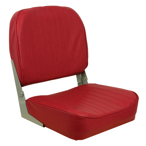 1040625 Springfield Marine Folding Boat Chair - Red